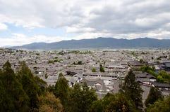 Rooftops - Lijiang City - China Royalty Free Stock Images