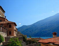 Rooftops in Limone Royalty Free Stock Photography