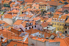 Rooftops in Lisbon, Portugal Stock Photo