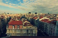 Rooftops of Lisbon, Portugal (Lisboa) Royalty Free Stock Photography