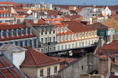 Rooftops of Lisbon in Portugal. Stock Photography