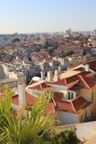 Rooftops in Lisbon Stock Photography