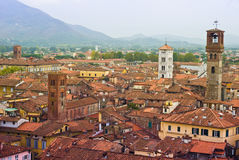 Rooftops of Lucca Stock Photo