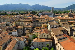 Rooftops of Lucca Royalty Free Stock Photography