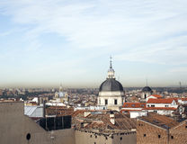 Rooftops Madrid Spain Europe Stock Photo