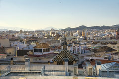 Rooftops of Malaga Royalty Free Stock Images