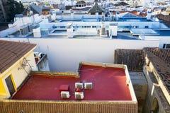 Rooftops of Malaga Stock Image