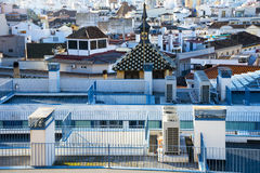 Rooftops of Malaga Royalty Free Stock Photo