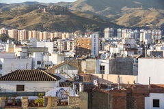 Rooftops of Malaga Stock Photo