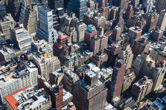 Rooftops of Manhattan Stock Photos