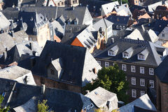 Rooftops in Marburg, Germany Stock Images