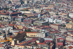 Rooftops of Naples old town, Italy Royalty Free Stock Images