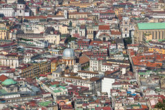 Rooftops of Naples old town, Italy Royalty Free Stock Photo