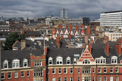 Rooftops of Newcastle Stock Photography