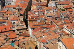 Rooftops of Nice Royalty Free Stock Images