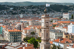 Rooftops of Nice in France Royalty Free Stock Photography