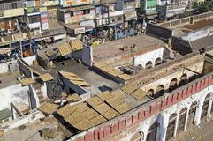 Rooftops of Old Delhi Stock Photography