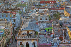 Rooftops of Old Havana Royalty Free Stock Photos