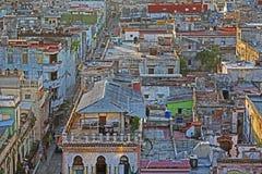 Rooftops of Old Havana. Cuba Royalty Free Stock Photos