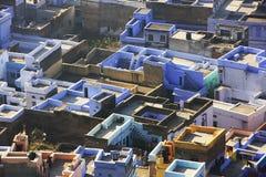 Rooftops of old town, Bundi, Rajasthan Royalty Free Stock Photos