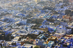 Rooftops of old town, Bundi, Rajasthan Royalty Free Stock Images