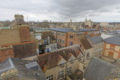 Rooftops of oxford Royalty Free Stock Images