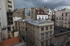 Rooftops in Paris Stock Photography
