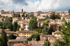 Rooftops of Perugia medieval town, Umbria, Italy Stock Images