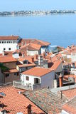Rooftops  of Piran V Royalty Free Stock Photos