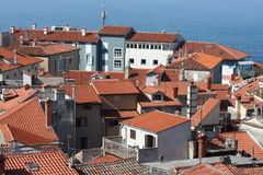 Rooftops  of Piran I Royalty Free Stock Photography