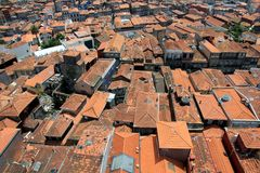 Rooftops in Porto, Portugal Stock Photos