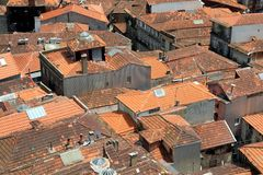 Rooftops in Porto, Portugal Stock Images