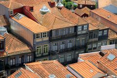 Rooftops in Porto, Portugal Stock Photography