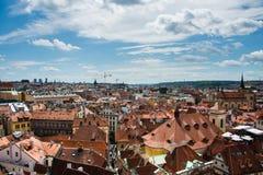 Rooftops in Prague Stock Photos
