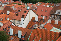 Rooftops in Prague Royalty Free Stock Photo