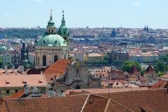 Rooftops of Prague, Czech Republic Stock Photo