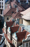 Rooftops of Prague in Czechia Europe Stock Photo