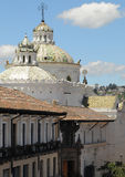 Rooftops of Quito, Ecuador Royalty Free Stock Photography