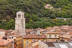 Rooftops of Riva del Garda Stock Photos