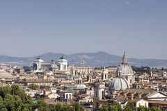 Rooftops in Rome Royalty Free Stock Images