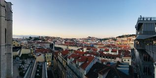 Rooftops. Rooftop view in Lisbon, portugal stock photo