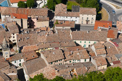 Rooftops of San Marino Stock Photography