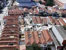 Rooftops of Sao Paulo, Brazil Royalty Free Stock Image