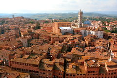 The Rooftops of Siena Italy Royalty Free Stock Image
