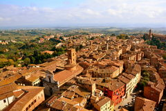 The Rooftops of Siena Italy Royalty Free Stock Images