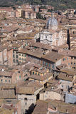 Rooftops of Siena Royalty Free Stock Photo
