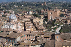 Rooftops of Siena Stock Photo