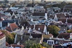 Rooftops of Tallinn Stock Photos