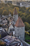 Rooftops of Tallinn Royalty Free Stock Photo