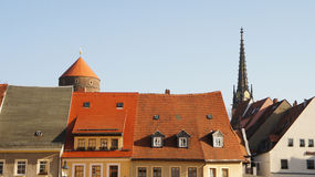 Rooftops and towers Stock Photography